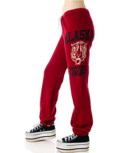 Tiger Print Sweatpants