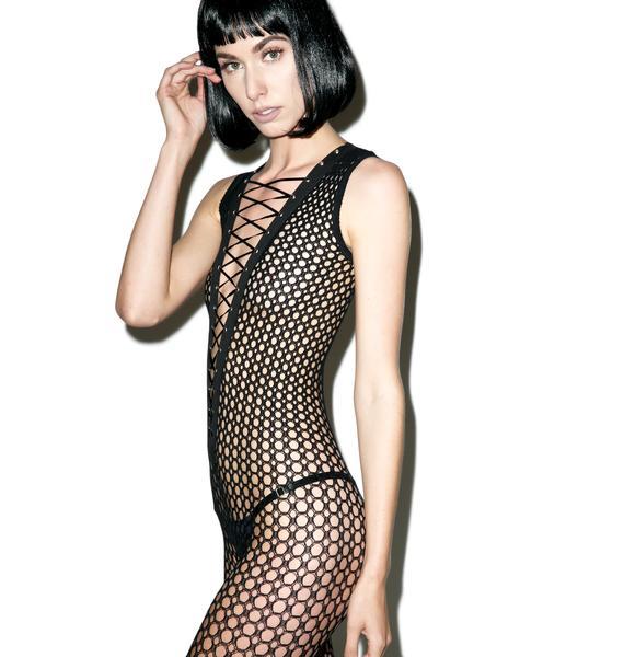 Temptress Lace Up Bodysuit