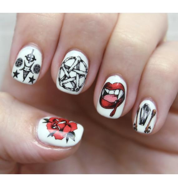Nail Pop X Dolls Kill Hail, Hail! Nail Decal