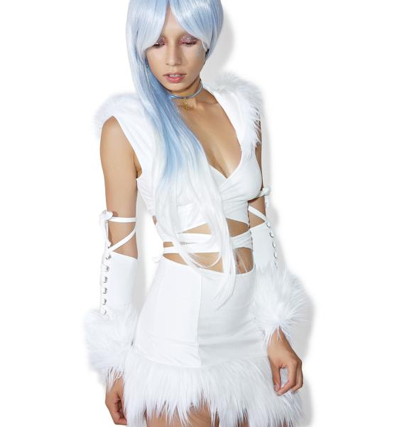J Valentine X Dolls Kill Ice Queen Costume