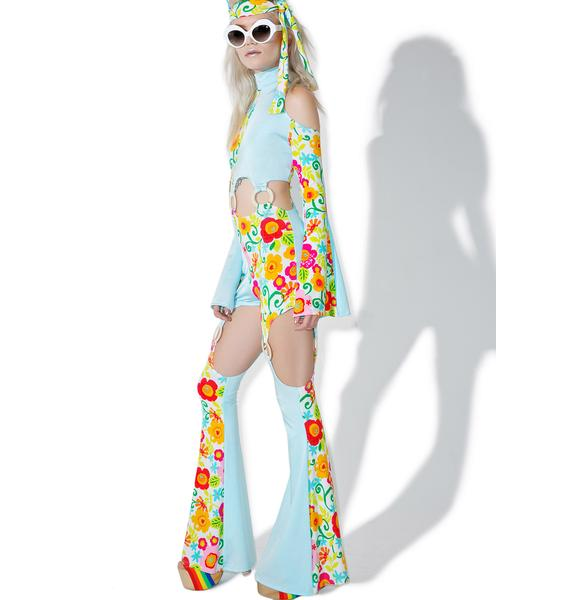 Totally Trippy Hippie Costume Set