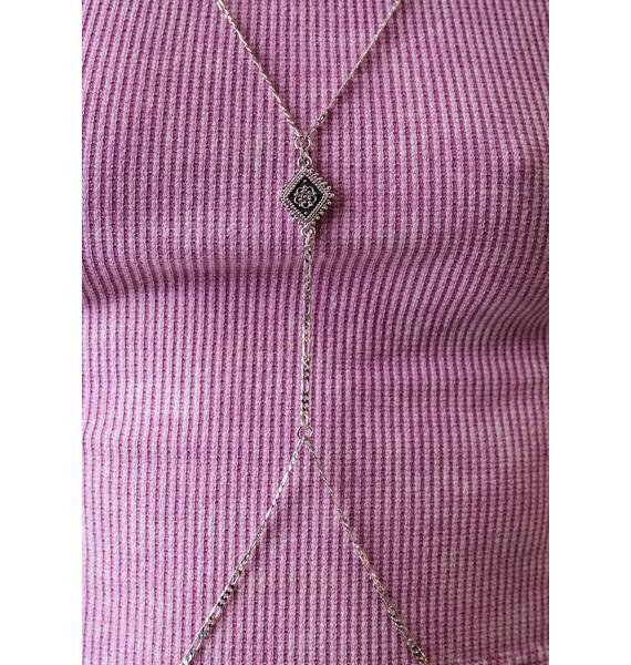 Vanessa Mooney Diamond Lace Body Chain