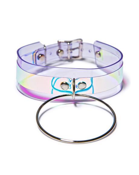 Hologram Heaux O-Ring Choker
