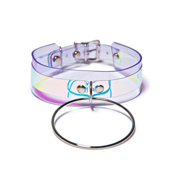 Apatico Hologram Heaux O-Ring Choker