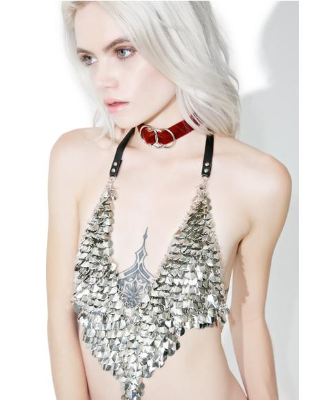 Ceres Chainmail Halter Top