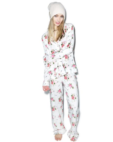 Lover's Bouquet Classic Pajama Set