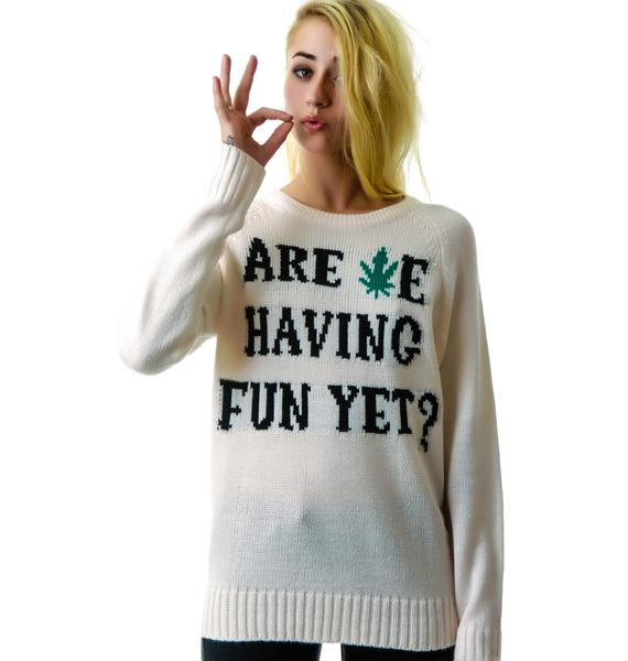 UNIF Are We? Sweater