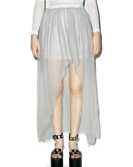 Sterling Sheer Maxi Skirt