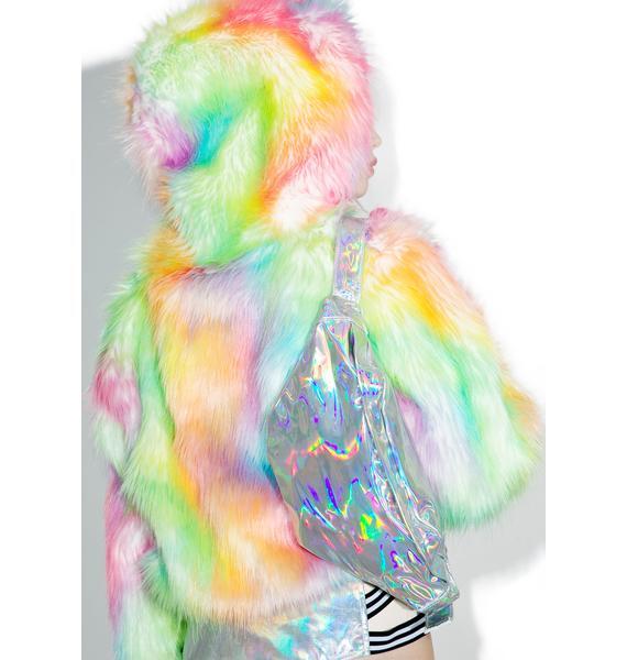 Hologram Slick Fanny Pack