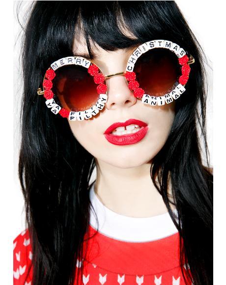 Ya Filthy Animal Sunglasses