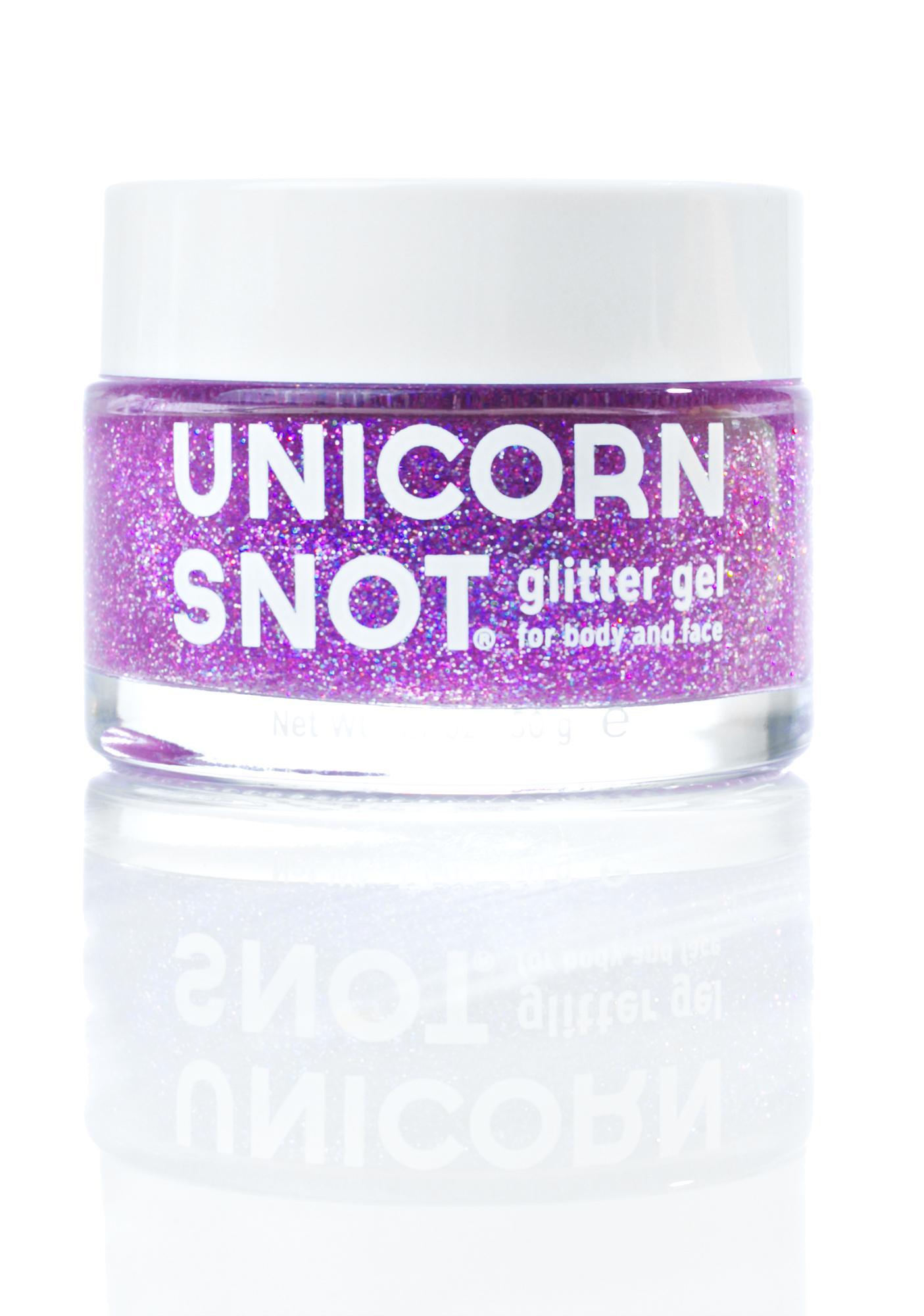 Unicorn Snot Purple Glitter Gel