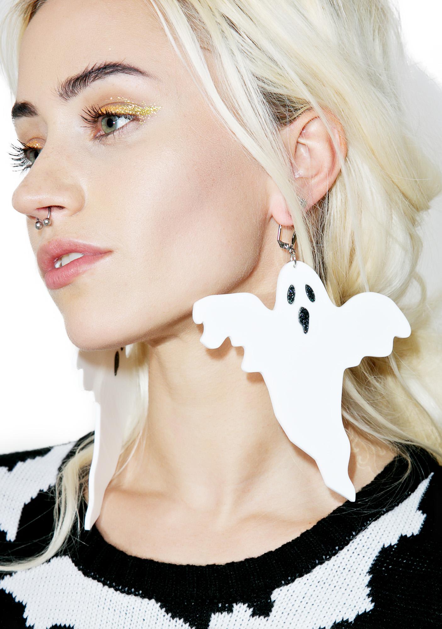 Marina Fini Ghost Earrings