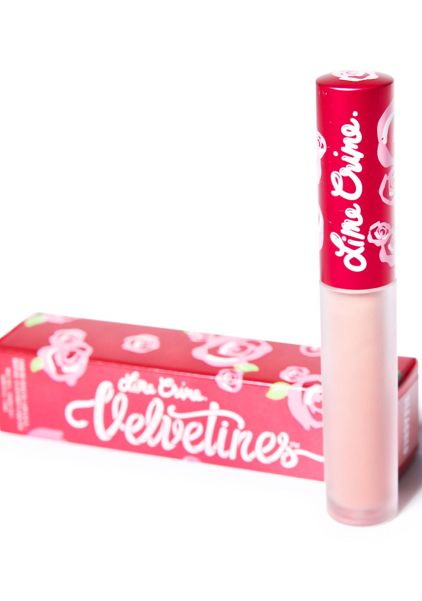 Lime Crime Lulu Velvetine Liquid Lipstick: Lime Crime Bleached Velvetine Liquid Lipstick