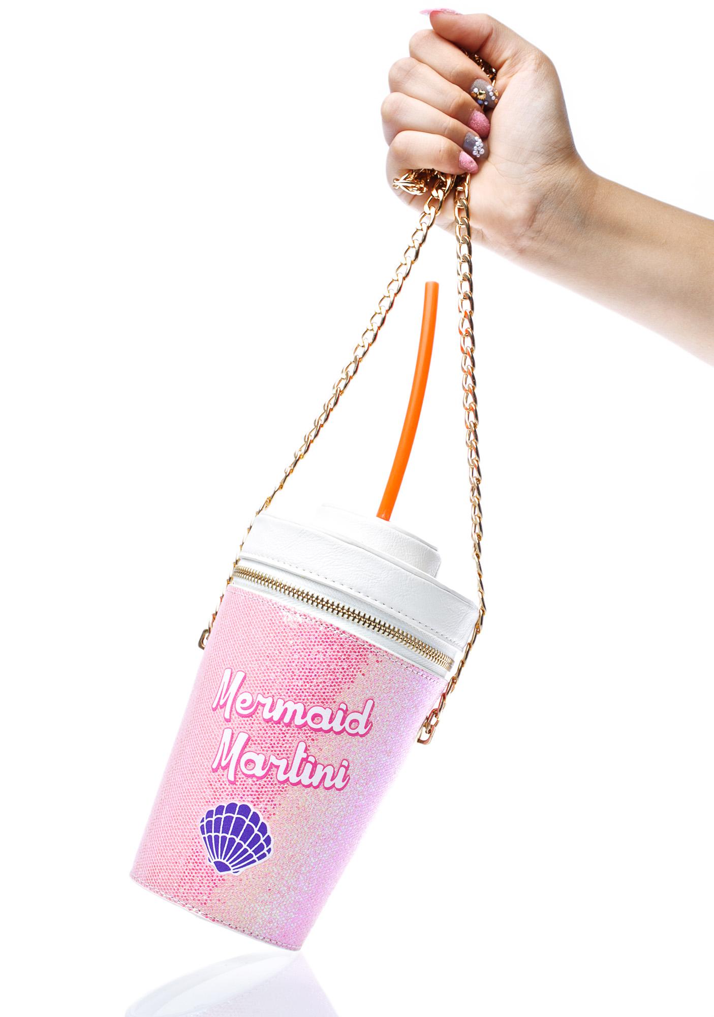 Skinnydip Mermaid Martini Cross Body Bag