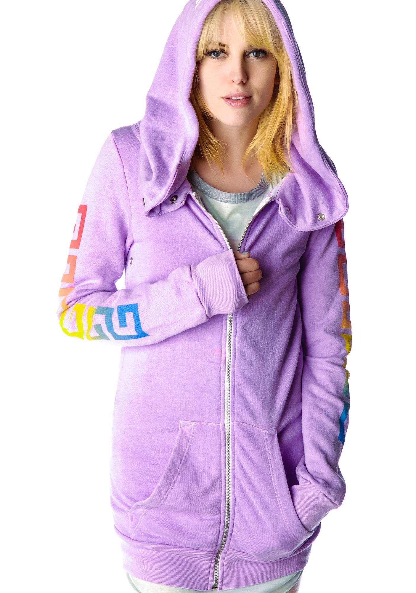 Rebel yell superfluous hoodie