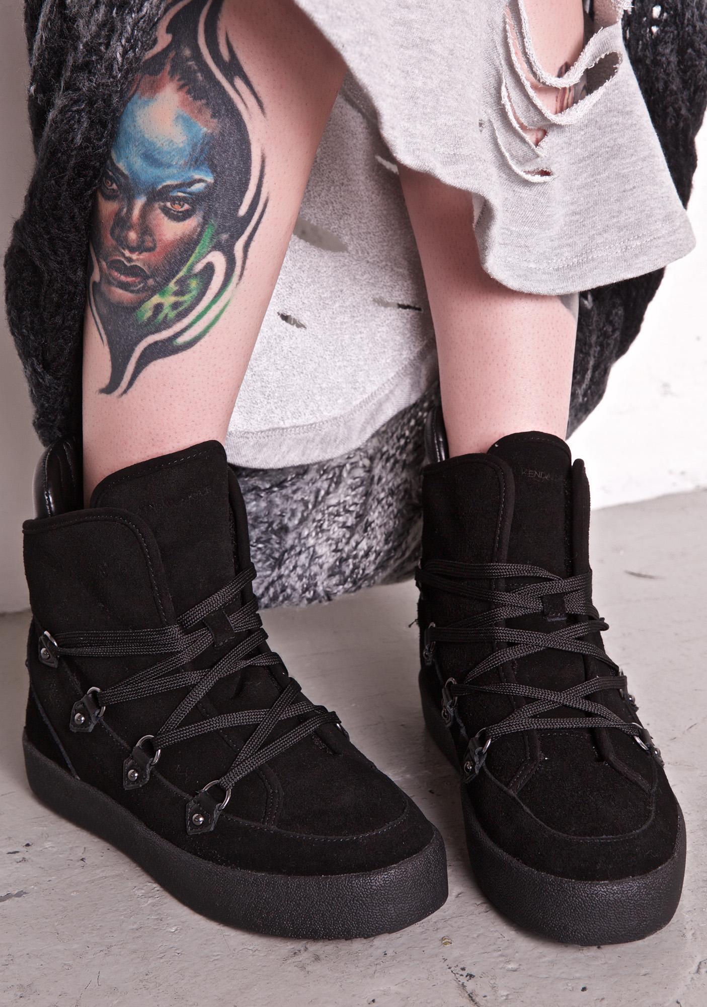 Kendall + Kylie Darby High Top Sneakers