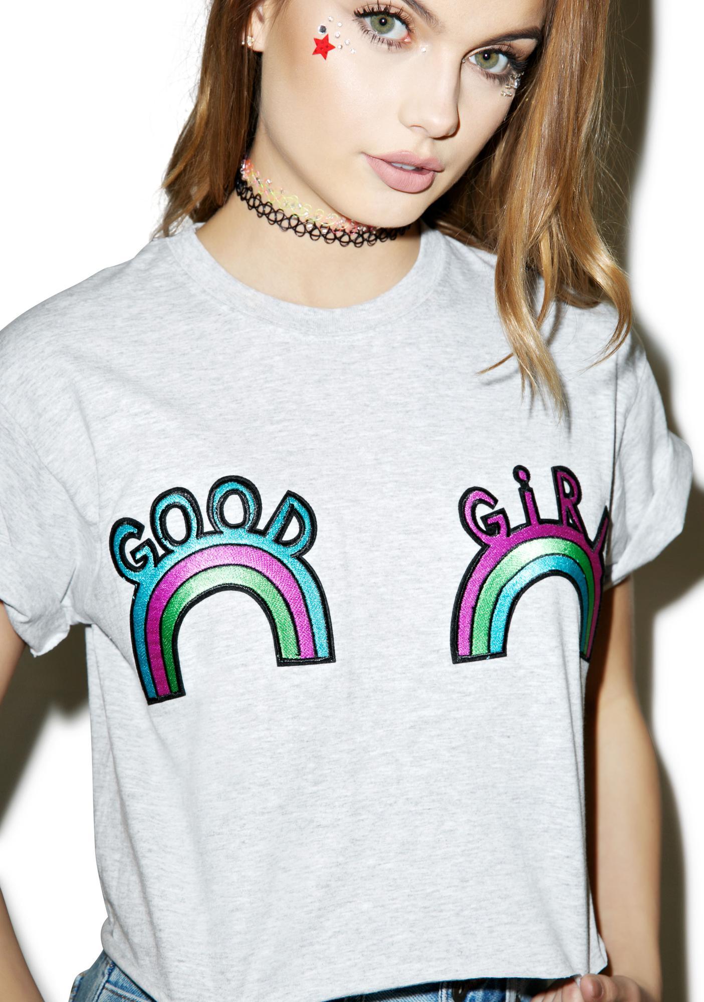 Good Girl Vs Bad Girl Makeup Good: The Ragged Priest Good Girl Crop Tee